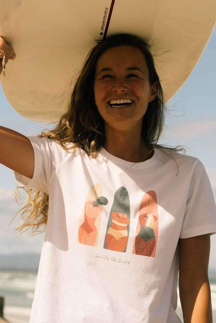 Tee Shirt Vicky Blanc