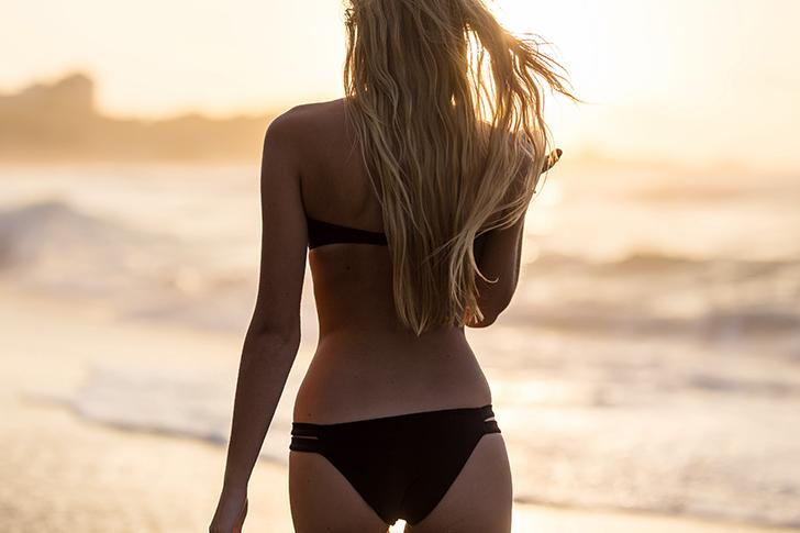 Mallot de bain dunes noir sowe