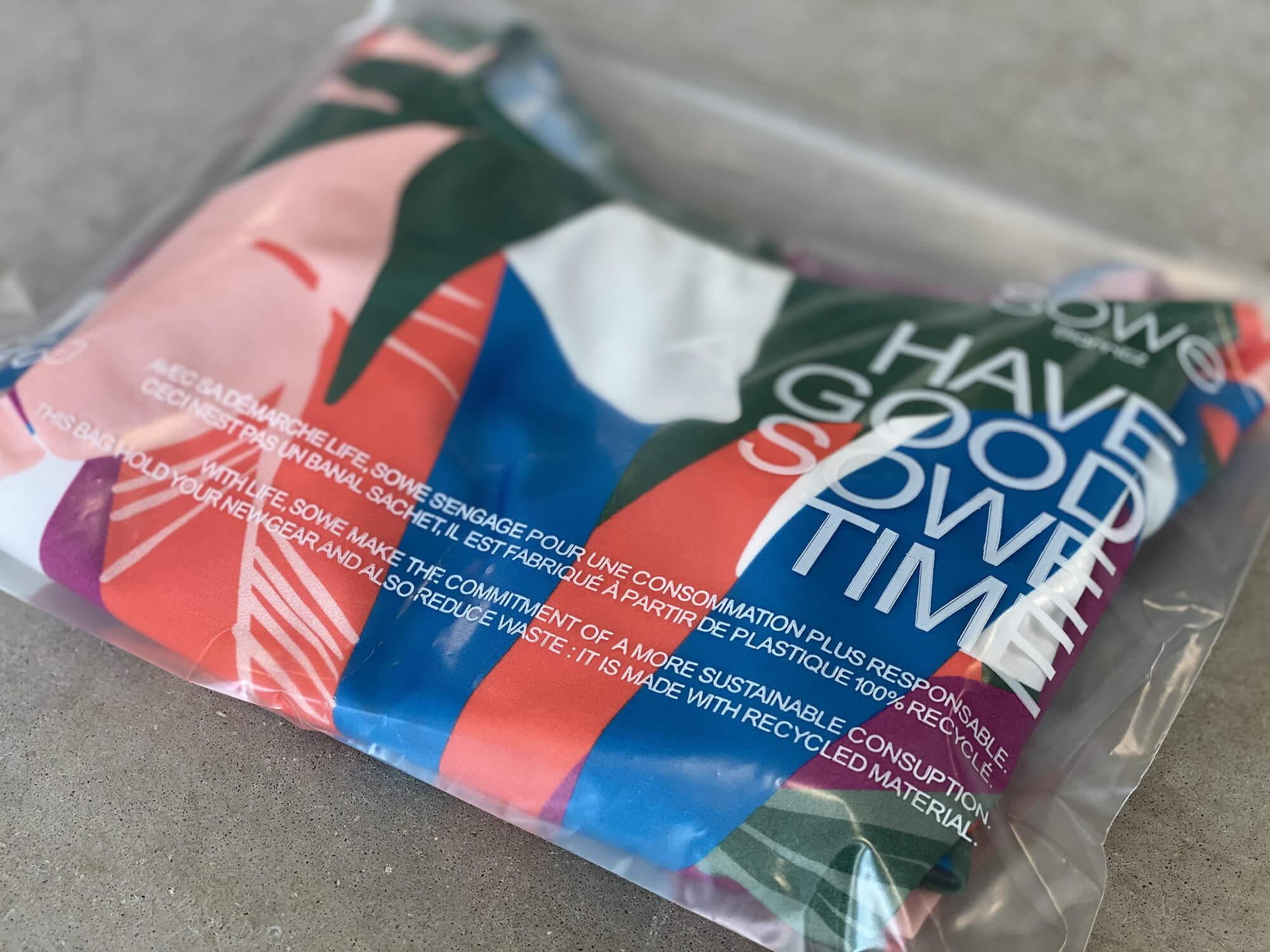 Sowe Biarritz emballage recyclé